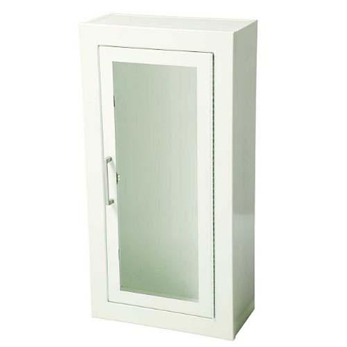 Steel Surface Mount Full Glass Door Fire Extinguisher Cabinet