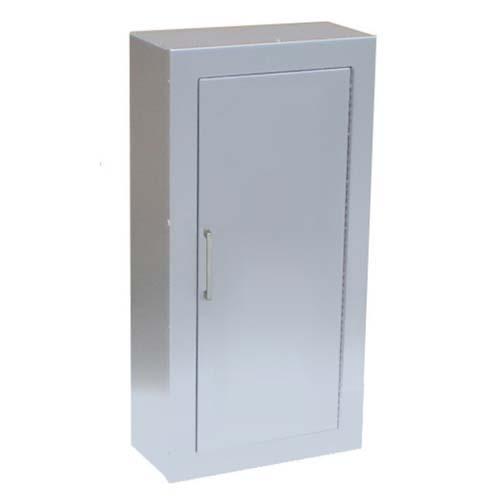 Aluminum Surface Mount Solid Door Fire Extinguisher Cabinet
