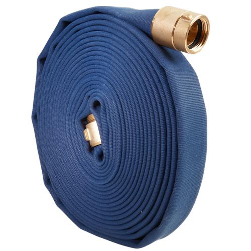 "Blue 1 1/2"" x 50 Potable Water Hose (Brass NPSH Couplings)"
