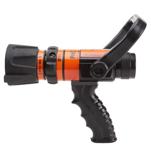 """Akron ProVenger 1"""" Heavy-Duty 5 to 40 GPM Fire Nozzle (NH)"""