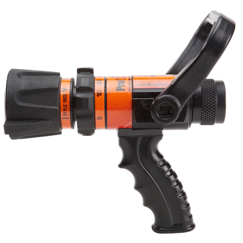 """Akron ProVenger 1"""" Heavy-Duty 5 to 40 GPM Fire Nozzle (NPSH)"""