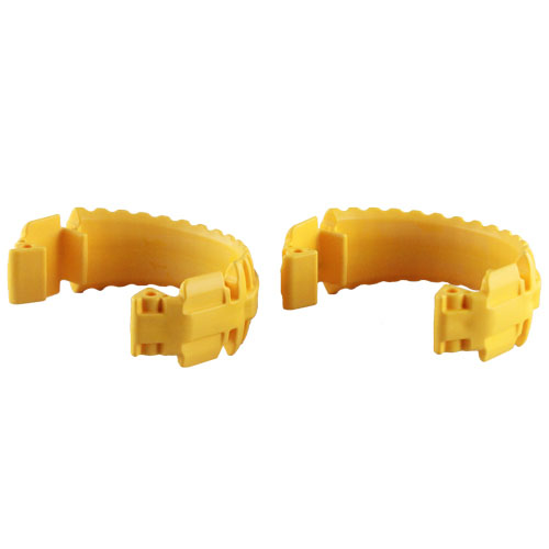 "1 1/2"" Camlock Safety Locks (2-Pack) - 15SBLYL"