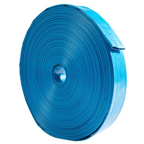 "Blue 3"" x 300 Lightweight Uncoupled Discharge Hose"
