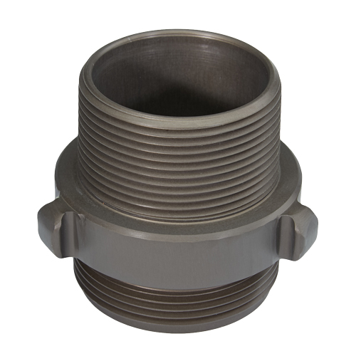 """Aluminum 2 1/2"""" NH to 2 1/2"""" NPT Double Male"""