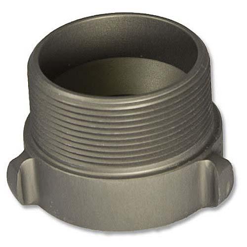 "Aluminum 1"" Female NH to 1 1/2"" Male NPT"