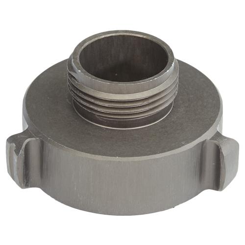 "Aluminum 1 1/2"" Female NH to 1"" Male NPSH"