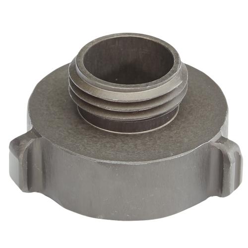 "Aluminum 1 1/2"" Female NPT to 1"" Male NH"