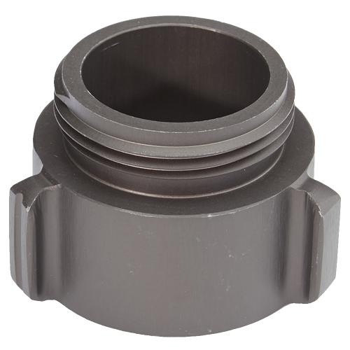 "Aluminum 1 1/2"" Female NPT to 1 1/2"" Male NH"