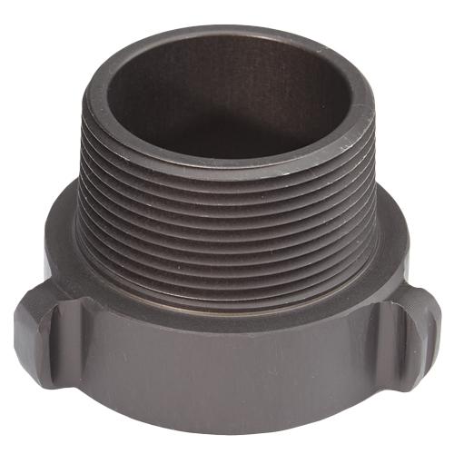 "Aluminum 1 1/2"" Female NPSH to 1 1/2"" Male NPT"