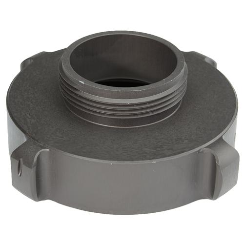 "Aluminum 4"" Female NH to 2 1/2"" Male NH"
