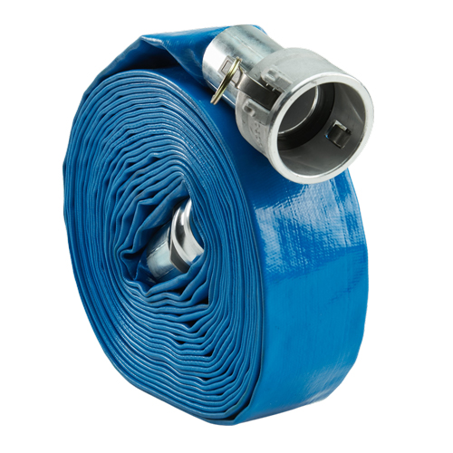 "Blue 4"" x 50 Camlock Lightweight Hose"