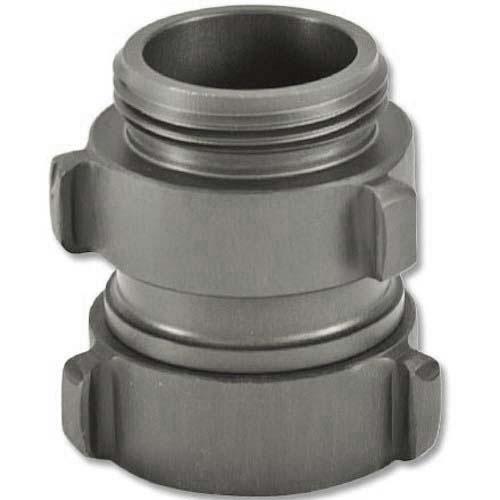 "Aluminum 1 1/2"" Swivel Female NH to 1 1/2"" Male NH Rocker Lug Double Female Adapter"