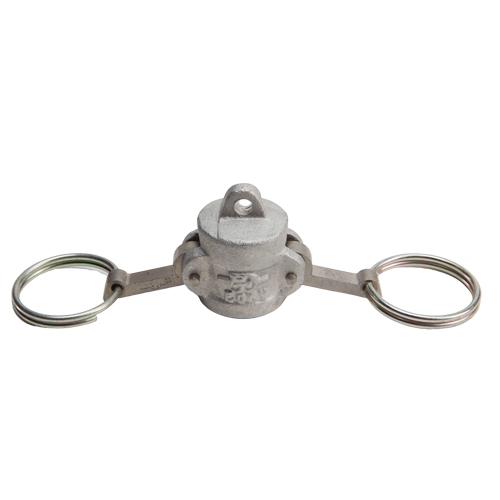 """Aluminum 1/2"""" Female Camlock Dust Cap (USA)"""