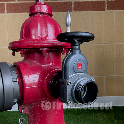 "Aluminum 2 1/2"" Fire Hydrant Gate Valve - AHGV25"