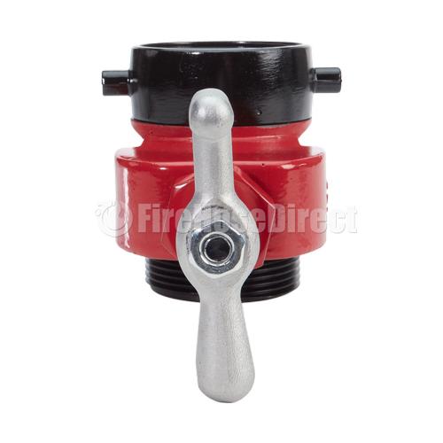 "Red Aluminum 2 1/2"" Fire Hydrant Gate Valve - AHGV25RD"