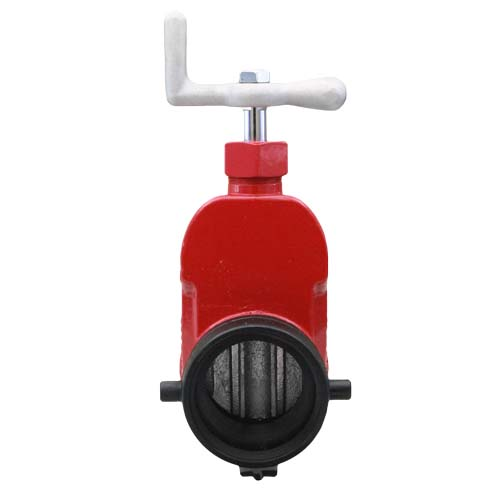 "Red Aluminum 2 1/2"" Fire Hydrant Gate Valve 2 1/2"" Fire Hydrant Gate Valve"