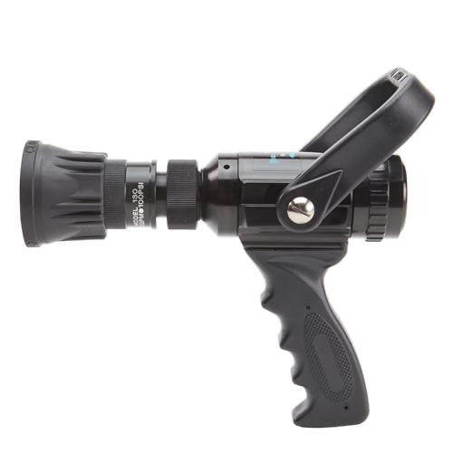 """Aluminum 1"""" Fire Nozzle 30 GPM (NH)"""