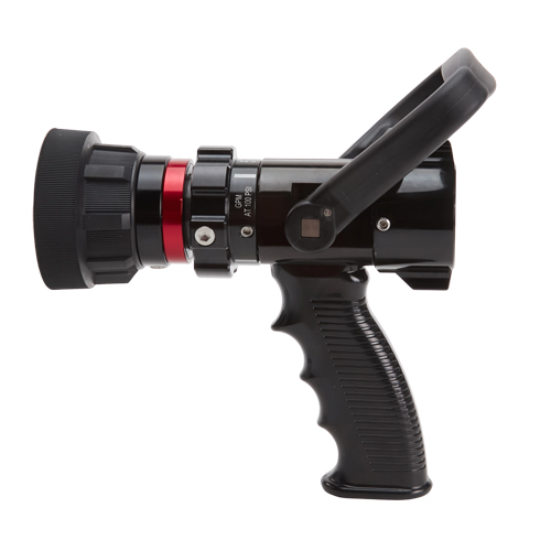 """Aluminum 1"""" Heavy-Duty 13 to 60 GPM Fire Nozzle (NH)"""