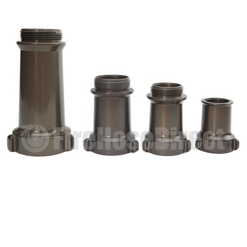 """Aluminum 2 1/2"""" Quad Stacked Tips (NH) - AQST25"""