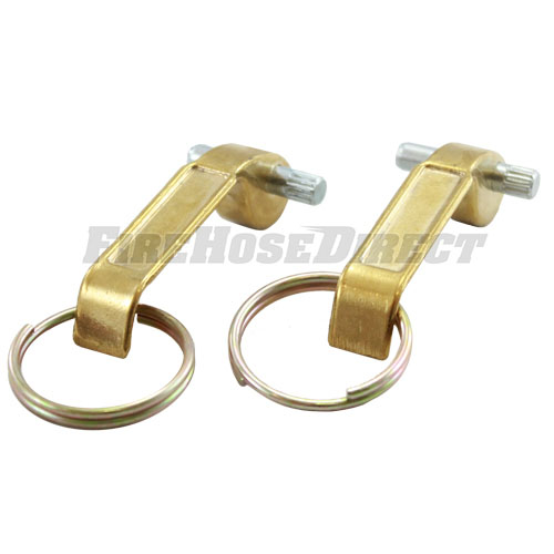"""Brass 1 1/4"""" - 2 1/2"""" Female Cam & Groove Replacement Arms (2-Pack) - B12-25RCA"""