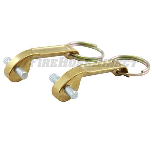"""Brass 3"""" - 5"""" Female Cam & Groove Replacement Arms (2-Pack) - B30-50RCA"""