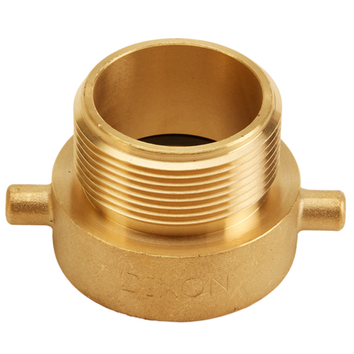 "Brass 1 1/2"" Female NH to 1 1/2"" Male NPSH (Pin Lug)"