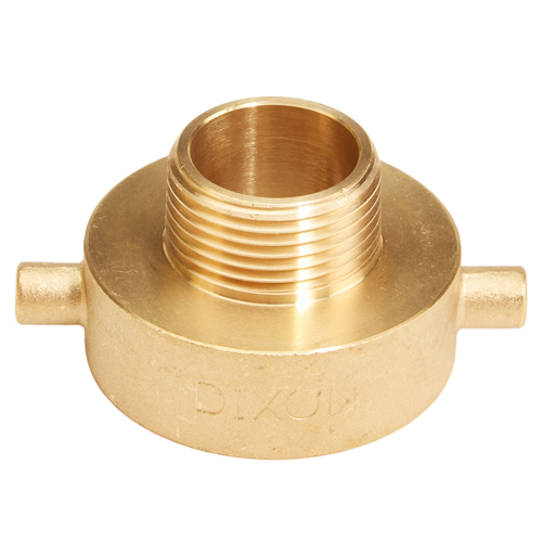 "Brass 1 1/2"" Female NH to 1"" Male NPT (Pin Lug)"