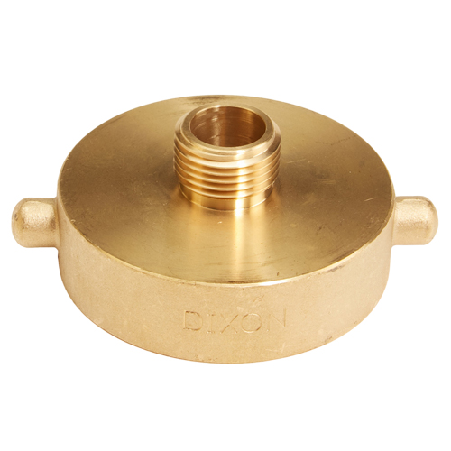 "Brass 2 1/2"" Female NH to Male GHT (Pin Lug)"