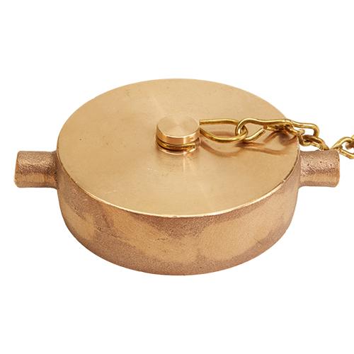 Chain Pin Fast Cap 2.5 NPSH Fast Fire Parts Brass