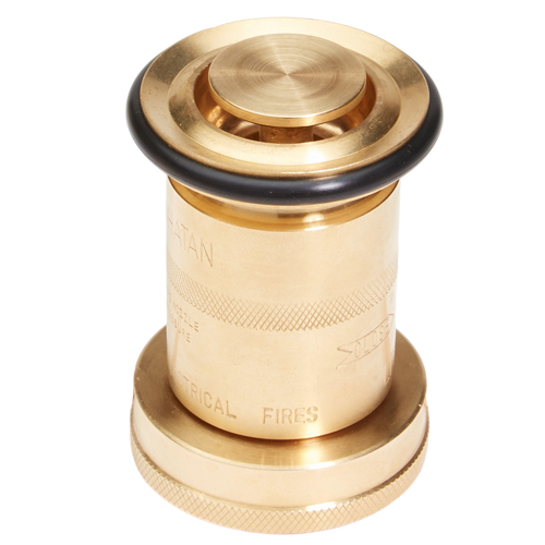 """Brass 1 1/2"""" Industrial Washdown Nozzle (NH)"""