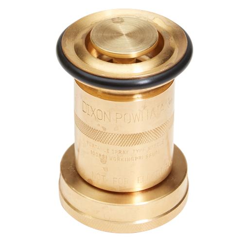 "Brass 1 1/2"" Industrial Washdown Nozzle (NPSH)"