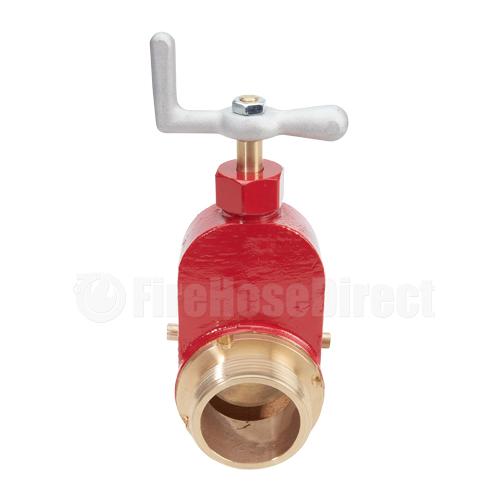 "Brass 2 1/2"" Fire Hydrant Gate Valve - BHGV25"