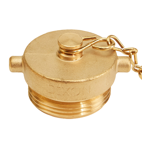 "Brass 1 1/2"" NH Plug (Pin Lug)"