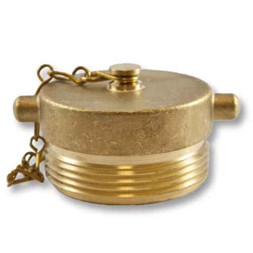 "Brass 2 1/2"" NH Plug (Pin Lug) FDC, AUTO SPKR"