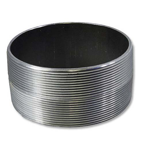 """Carbon Steel 2"""" NPT to 2"""" NPT Double Male"""