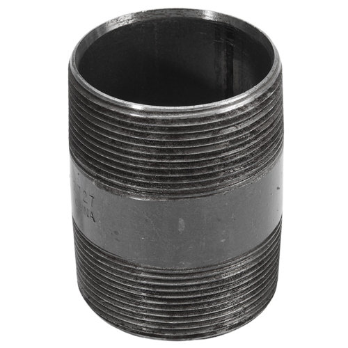 """Carbon Steel 2 1/2"""" NPT to 2 1/2"""" NPT Double Male"""
