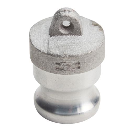 "Aluminum 1/2"" Male Camlock Dust Plug (USA)"