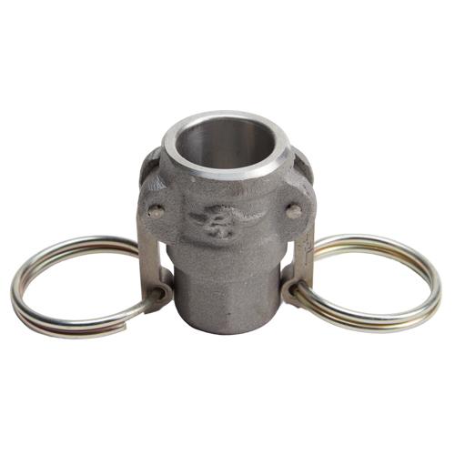 "Aluminum 1/2"" Female Camlock x 1/2"" Female NPT (USA)"