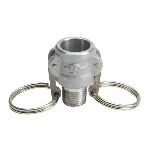 "Aluminum 1/2"" Female Camlock x 1/2"" Male NPT (USA)"