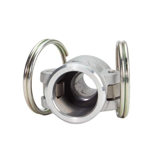 """Aluminum 1/2"""" Female Camlock x 1/2"""" Male NPT (USA) - DA05F05MN"""