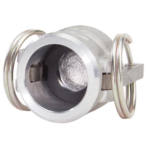 """Aluminum 3/4"""" Female Camlock Dust Cap (USA) - DA07DC"""