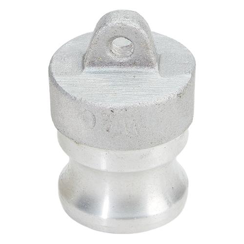 "Aluminum 3/4"" Male Camlock Dust Plug (USA)"