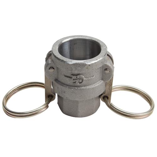 "Aluminum 3/4"" Female Camlock x 3/4"" Female NPT (USA)"