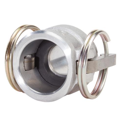 """Aluminum 3/4"""" Female Camlock x 3/4"""" Male NPT (USA) - DA07F07MN"""