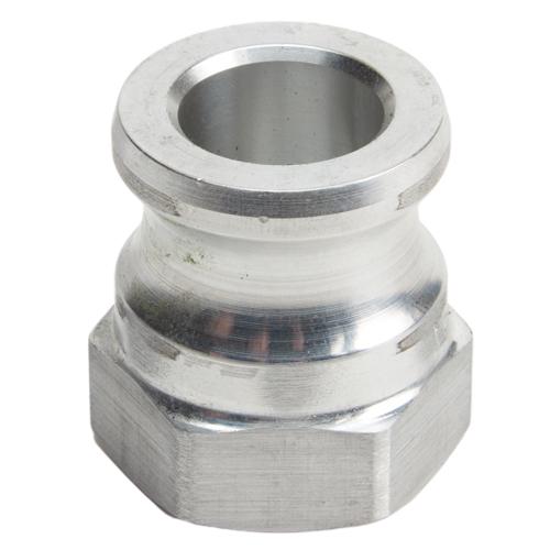 "Aluminum 3/4"" Male Camlock x 3/4"" Female NPT (USA)"