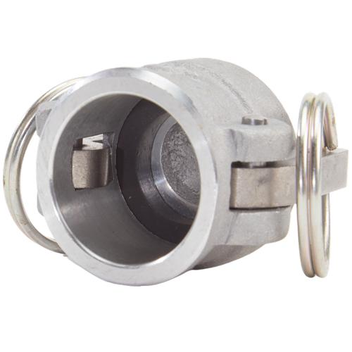 """Aluminum 1"""" Female Camlock Dust Cap (USA) - DA10DC"""