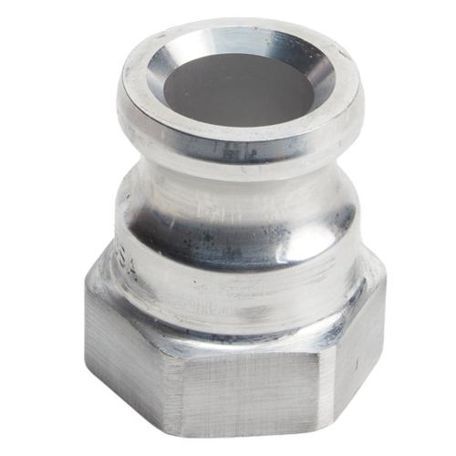 "Aluminum 1"" Male Camlock x 1"" Female NPT (USA)"