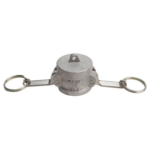 """Aluminum 1 1/4"""" Female Camlock Dust Cap (USA)"""