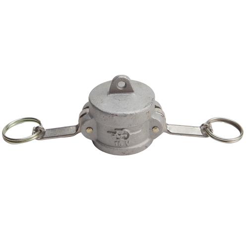 """Aluminum 1 1/2"""" Female Camlock Dust Cap (USA)"""
