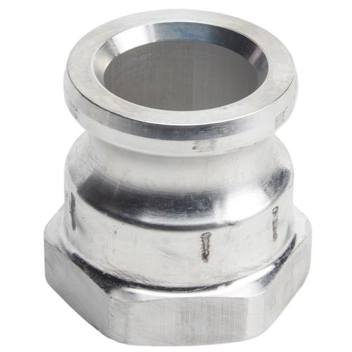 "Aluminum 1 1/2"" Male Camlock x 1 1/2"" Female NPT (USA)"